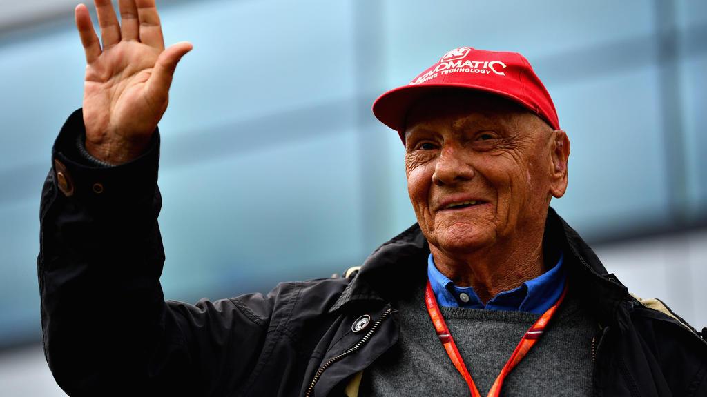 Niki Lauda plant tatsächlich in 17 Tagen ein Comeback in der Mercedes-Box
