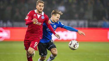 MSV Duisburg gewinnt bei Arminia Bielefeld