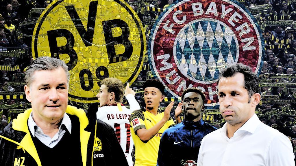 Immer mehr Transfer-Duelle zwischen FC Bayern und BVB