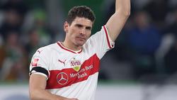 Mario Gomez glaubt an seinen VfB Stuttgart