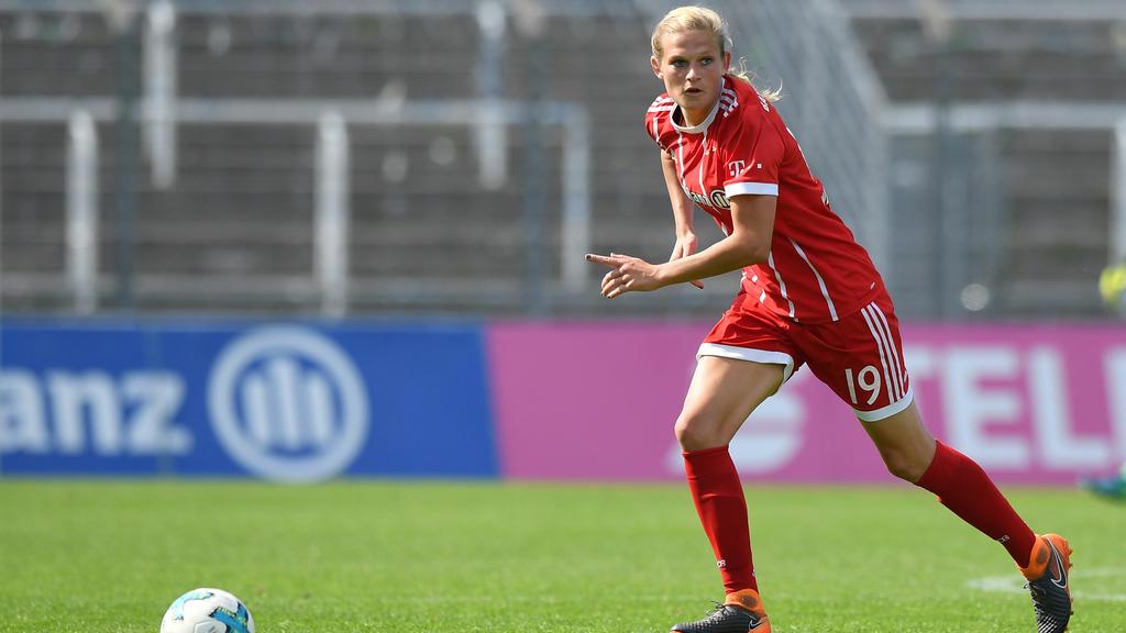 Carina Wenninger traf zum zwischenzeitlichen 1:0