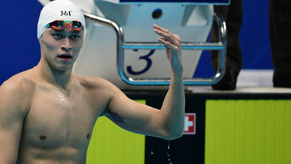Sun Yang ist bereits als Dopingsünder vorbestraft