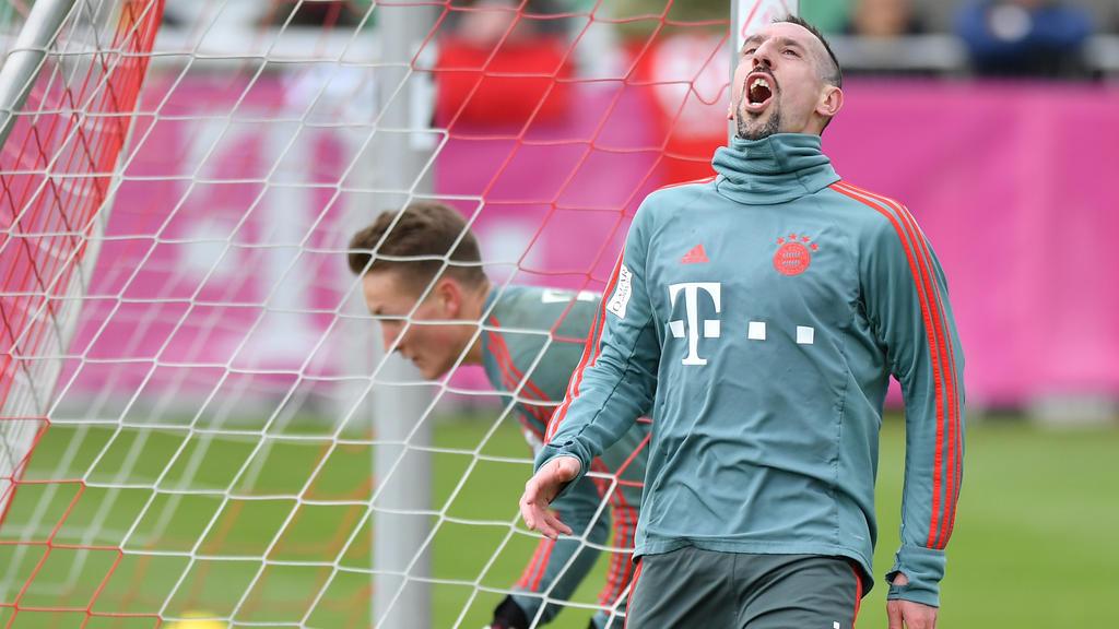 Franck Ribéry flog nicht mit nach Bremen