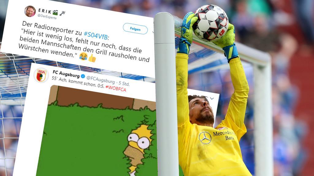 Das Netz reagierte mit Humor auf die Ereignisse beim Saison-Finale der Fußball-Bundesliga