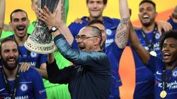 Maurizio Sarri hofft auf einen Verbleib beim FC Chelsea