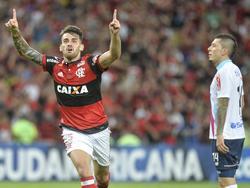 Vizeu decidió el choque para el Flamengo en el minuto 82'. (Foto: Imago)