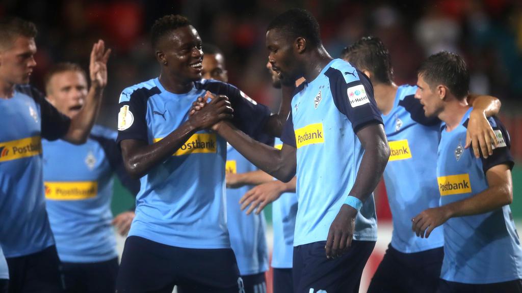 Hart erkämpfter Erfolg für Borussia Mönchengladbach