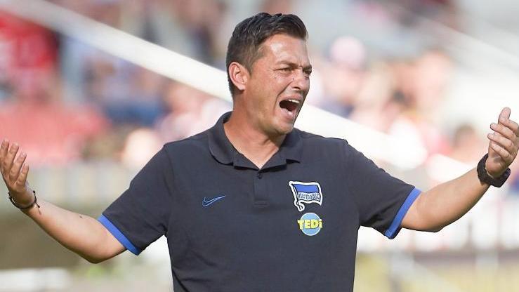 Bleibt vorerst Trainer von Hertha BSC: Ante Covic