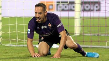 Ist mit seinem virtuellen Ich nicht zufrieden: Franck Ribéry