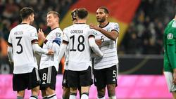 Mit dem Kantersieg gegen Nordirland festigte das DFB-Team Platz eins