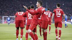 Der FC Bayern feierte gegen den FC Schalke eine Dauerparty