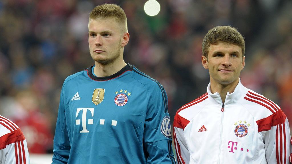 Lukas Raeder spielte zwischen 2012 und 2014 beim FC Bayern