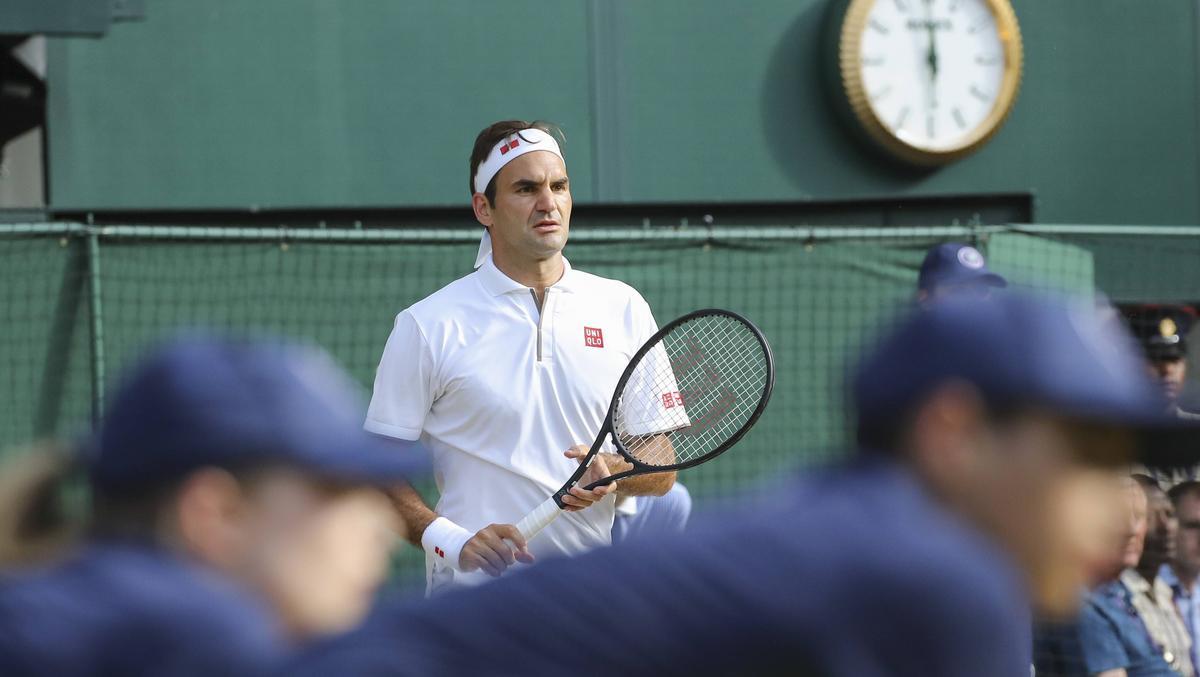 Roger Federer feierte in Wimbledon Erfolg um Erfolg