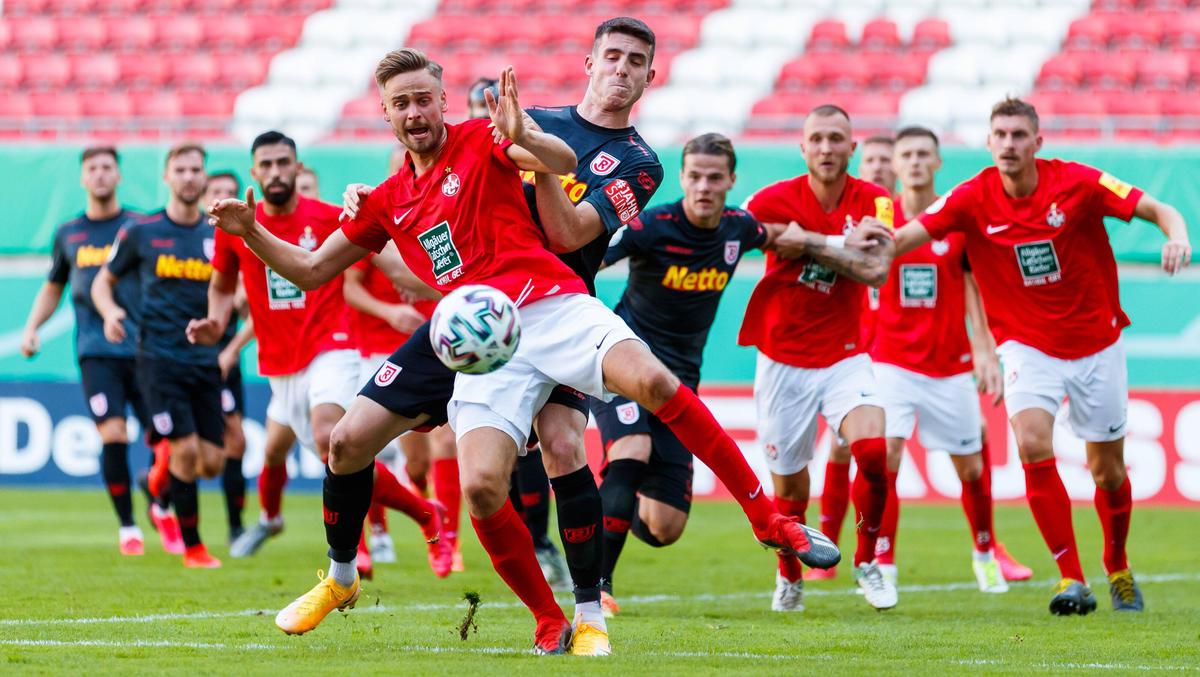 Der 1 FC Kaiserslautern ist im Elferschießen gescheitert