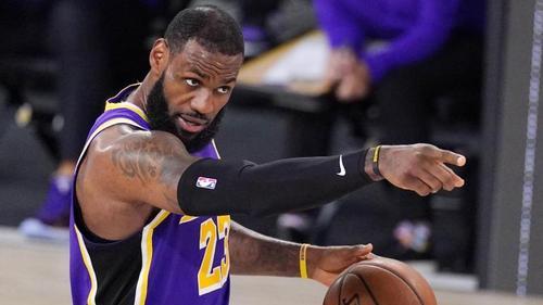 Peilt mit den Los Angeles Lakers die Meisterschaft in der NBA an