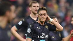 Mesut Özil spielt bei Arsenal keine Rolle mehr