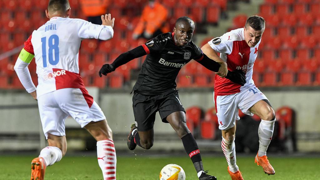 Bayer Leverkusen musste sich Slavia Prag geschlagen geben