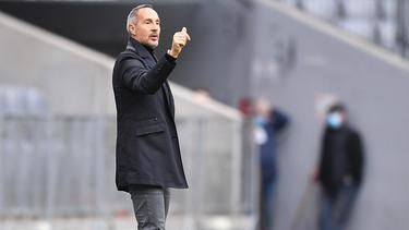 Adi Hütter und die Eintracht aus Frankfurt empfangen Werder Bremen