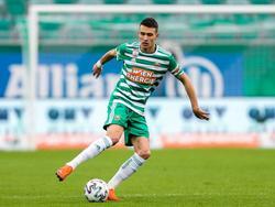 Dejan Ljubičić hat zwar Schmerzen, sollte aber bereits am Sonntag wieder spielen können