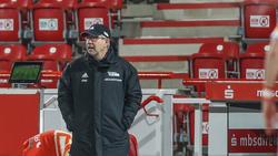 Union-Trainer Urs Fischer hofft auf drei Punkte gegen Hoffenheim