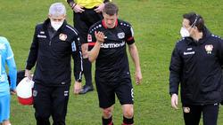 Lars Bender von Bayer Leverkusen wurde am Meniskus operiert