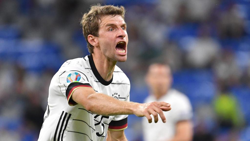 Thomas Müller will sich nicht auf EURO-Rechenspielchen einlassen