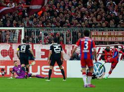 Mario Götze hizo el 2-0 ante el Braunschweig en Copa de Alemania. (Foto: Getty)