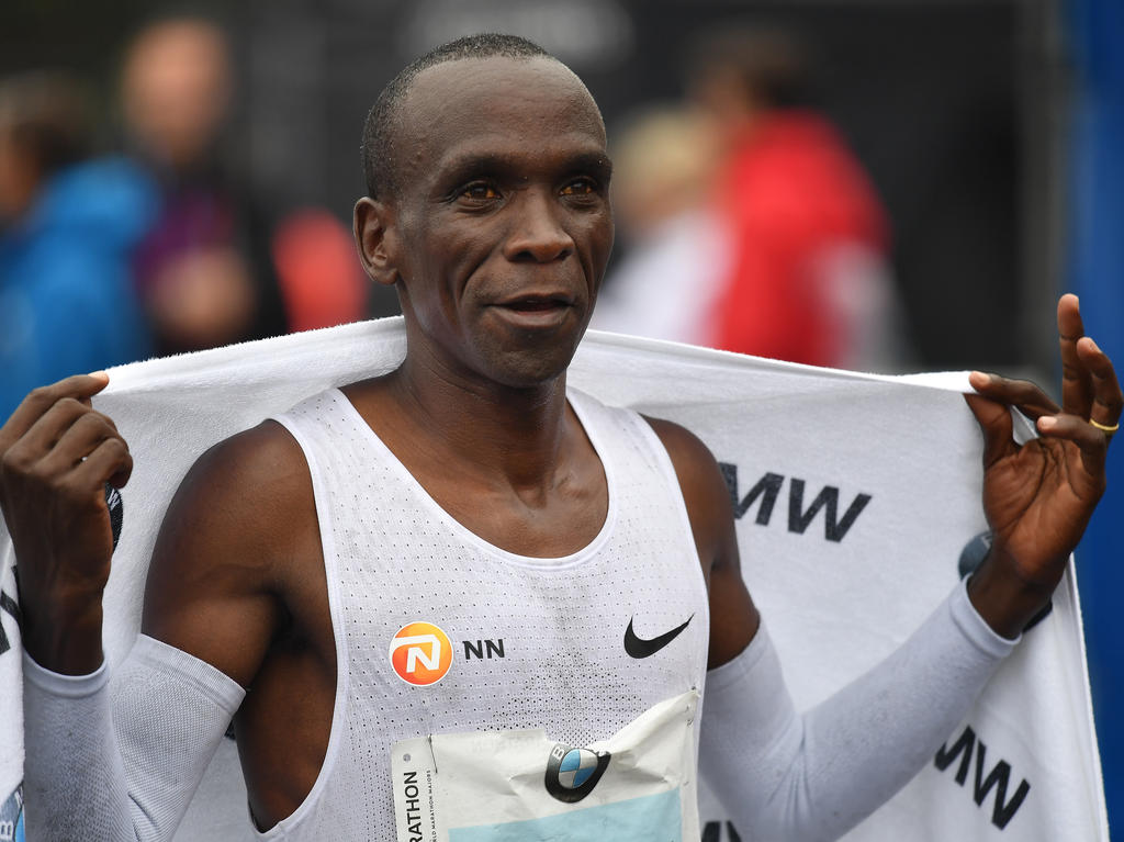 Eliud Kipchoge geht in London an den Start