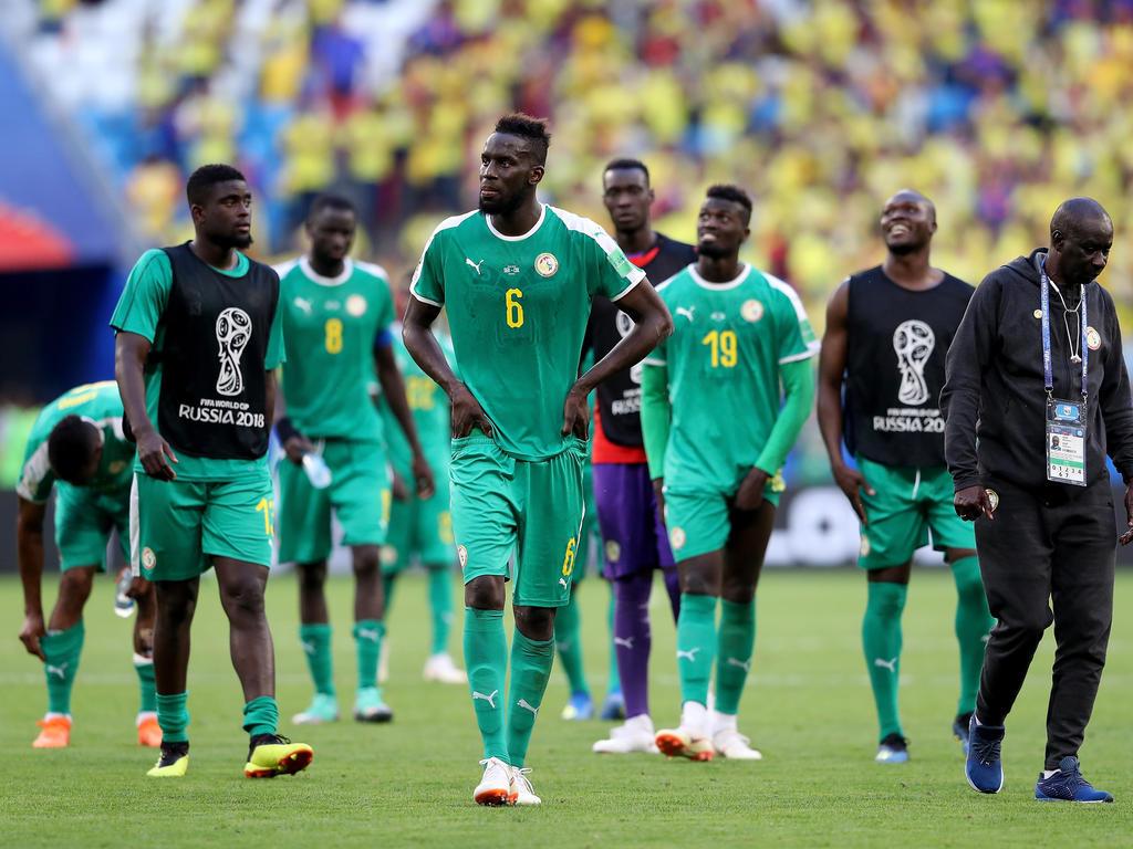 Salif Sané schied mit dem Senegal in der WM-Vorrunde aus
