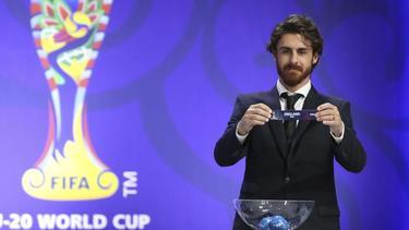 Ex-Profi Pablo Aimar 2017 bei der Auslosung für die U-20-WM