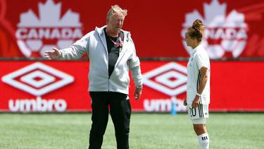Horst Hrubesch bereitet die DFB-Frauen in einem Kurz-Trainingslager auf WM-Qualifikationsspiele vor
