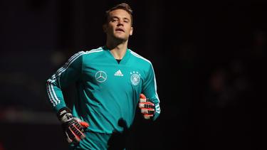 Manuel Neuer ist derzeit noch mit der Nationalmannschaft unterwegs
