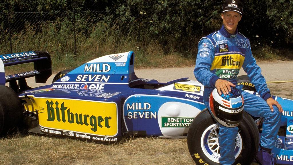 Mit Michael Schumacher feierte Benetton große Erfolge in der Formel 1