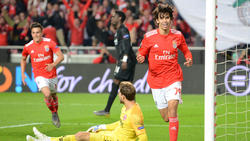 Erzielte drei Treffer gegen Eintracht Frankfurt: Joao Felix (r.)