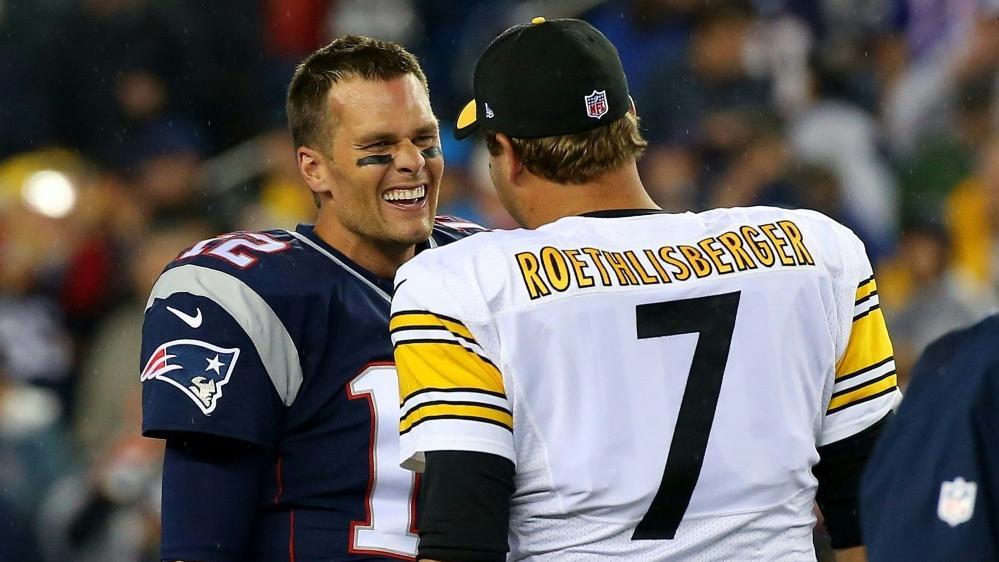 Duell der Star-Quarterbacks: Tom Brady trifft auf Ben Roethlisberger
