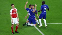 Giroud abrió el marcador con un golazo de cabeza. (Foto: Getty)