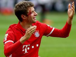 Nicht nur Müller hat es an diesem Spieltag hart erwischt