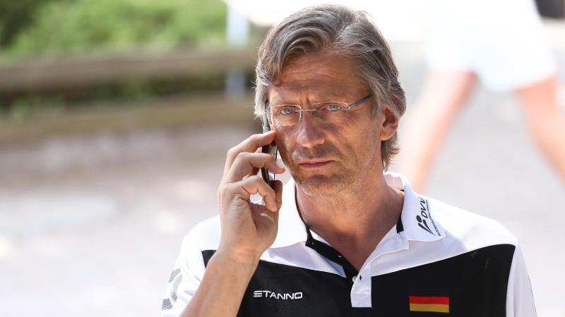 Will Beachvolleyball-Topturniere in Deutschland: DVV-Präsident Rene Hecht