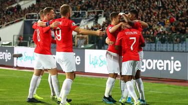 England ist nach dem Sieg in Bulgarien weiter auf EM-Kurs