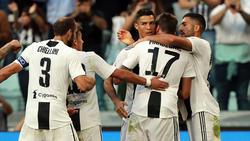 Mandzukic (17) und Can (r.) stehen derzeit bei Juventus Turin unter Vertrag