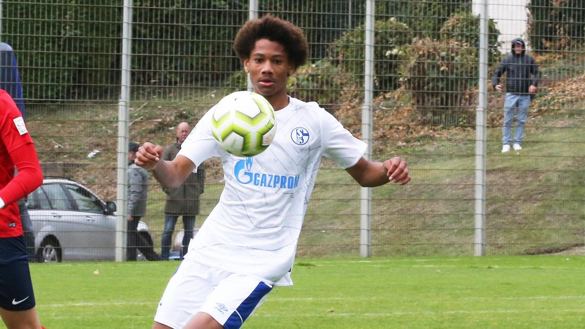 Sidi Sané spielt seit 2020 in der U19 des FC Schalke 04