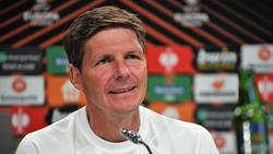Frankfurts Trainer Oliver Glasner