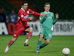 Mühsamer VfB-Erfolg über Werder II im Pokal