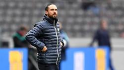 Alexander Nouri hat mit Hertha BSC einen Rückschlag erlitten
