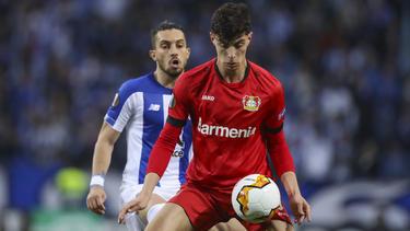 Kai Havertz führte Bayer Leverkusen gegen den FC Porto in die nächste Runde