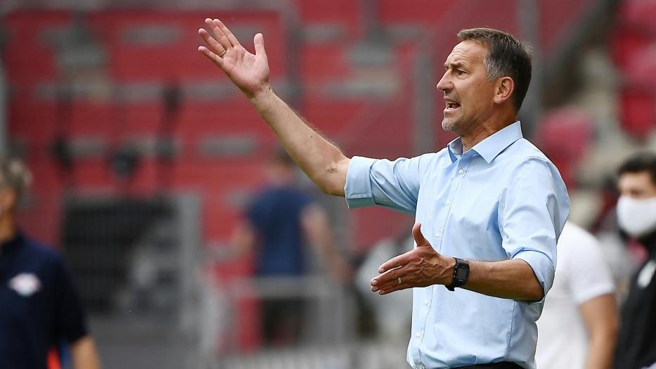 Mit Mainz 05 im Abstiegskampf: Achim Beierlorzer