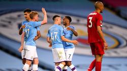 Manchester City schenkte dem FC Liverpool vier Tore ein