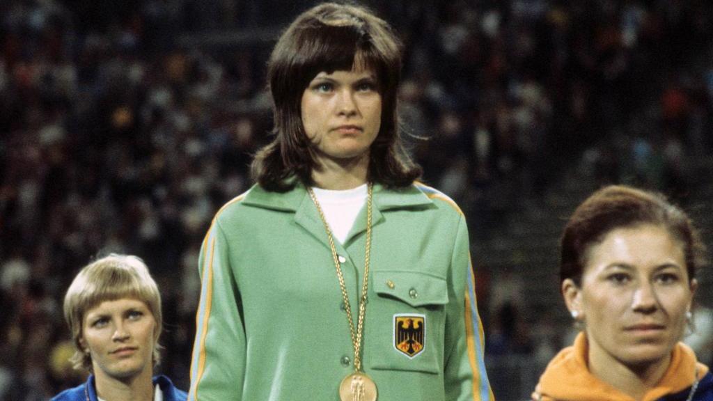 Ulrike Meyfarth schreibt 1972 in München mit ihrem Sieg im Hochsprung Geschichte