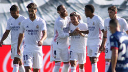Eden Hazard traf bei seinem Comeback in La Liga für Real Madrid