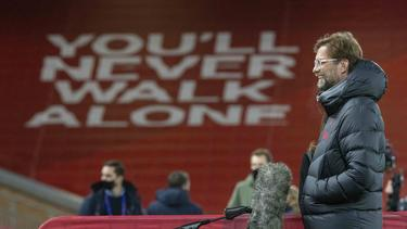 Jürgen Klopp freut sich die Rückkehr von Teilen der Fans
